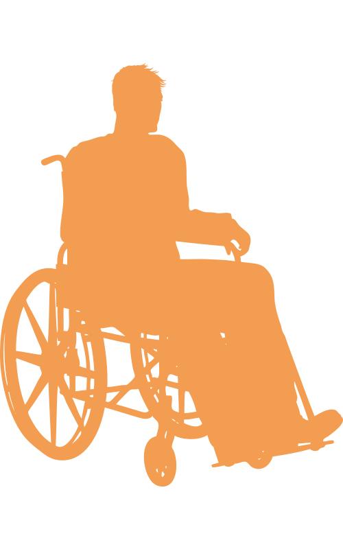 Illustration Personnes handicapées